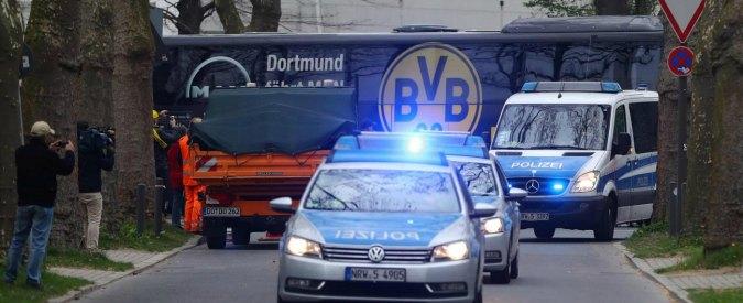 """Borussia Dortmund, gli inquirenti: """"La squadra è sfuggita alla strage per meno di un secondo"""""""