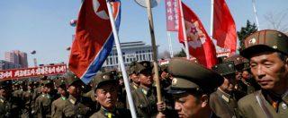 """Corea del Nord, missili alla parata per Kim Il-Sung. """"Pronti alla guerra nucleare contro gli Usa se ci attaccano"""""""