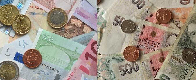 Euro, la Repubblica ceca sgancia la corona dalla moneta unica: addio al tasso fisso