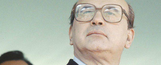 'I conti con Craxi': rievocato e riabilitato, Bettino torna di moda