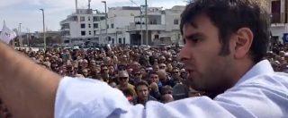 """NoTap, Di Battista a San Foca: """"Non esiste un Pd buono. Col M5S al governo blocchiamo il progetto in 15 giorni"""""""
