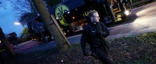 """Attentato contro il Borussia Dortmund, arrestato presunto islamista per l'attacco al bus: """"Punte metalliche nelle bombe"""""""