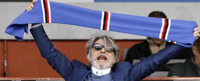 """Massimo Ferrero, """"il presidente della Sampdoria indagato per appropriazione indebita e riciclaggio"""""""