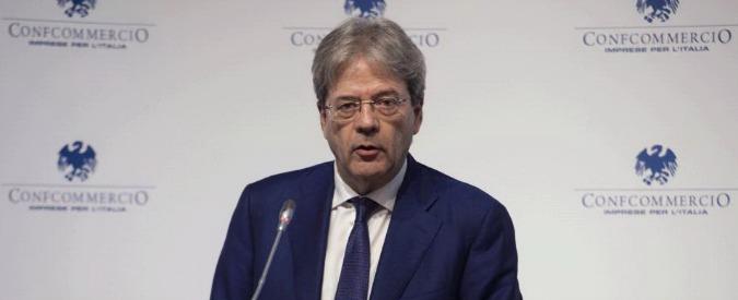 """Terremoto, Gentiloni a Cernobbio: """"Per noi è priorità assoluta che affronteremo con risorse necessarie e impegno"""""""