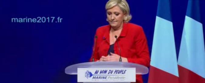 """Attentato Parigi, Le Pen: """"Mi aspetto altri attacchi prima di domenica"""". Trump e Berlino: """"Influenzerà voto"""""""