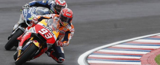 MotoGp, Sachsenring: vince Marquez, quinto Rossi, ottavo Dovizioso