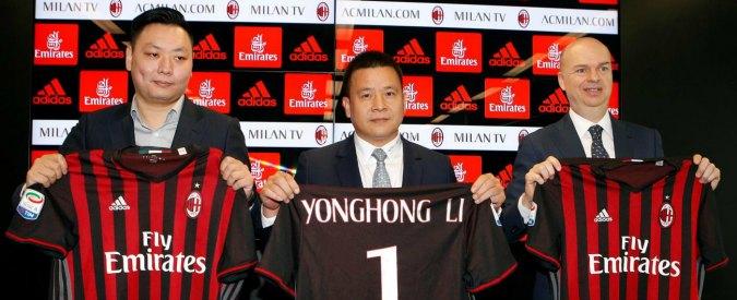"""Milan, Uefa dice no: bocciato il voluntary agreement. """"Troppe incertezze su debito e garanzie finanziarie di Yonghong Li"""""""