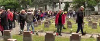 """25 Aprile, Anpi al cimitero Maggiore di Milano: """"Per vigilare contro la presenza dei neofascisti"""""""