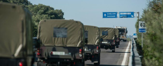 Sardegna, superare le servitù militari per combattere la povertà