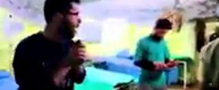 Siria, il momento in cui una bomba colpisce l'ospedale di Khan Sheikhoun
