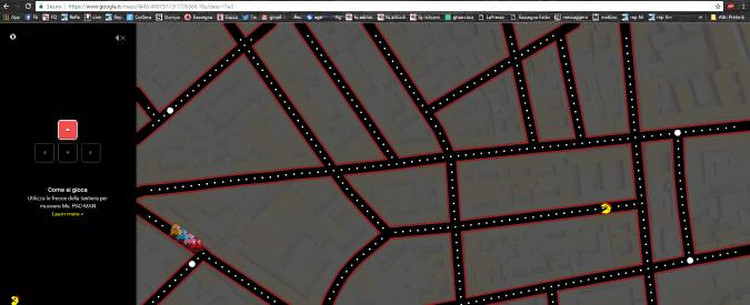 Pac-man su Maps: il pesce d'aprile di Google rilancia il videogioco degli anni 80