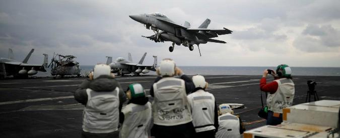 """Corea del Nord, Cnn: """"Navi di guerra Usa verso Pyongyang"""". Iran: """"Attacco in Siria errore decisivo"""""""