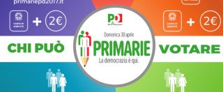 Primarie Pd 2017, come e dove votare domenica 30 aprile: istruzioni per l'uso