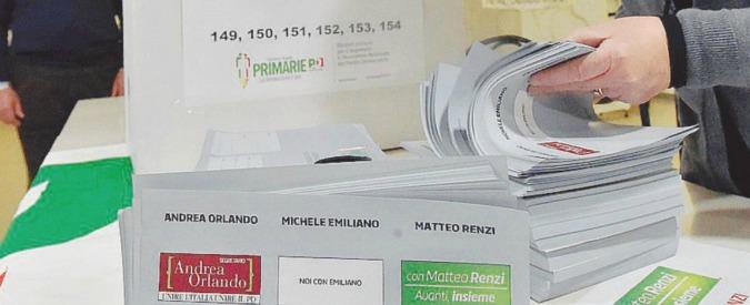 Primarie Pd, boom di votanti a Catania: 'I 2 euro? Me li hanno dati per darli a loro'