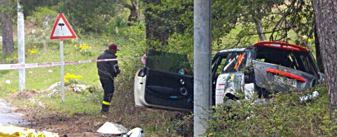 Palermo, incidente alla Targa Florio: morti un pilota e un commissario di gara