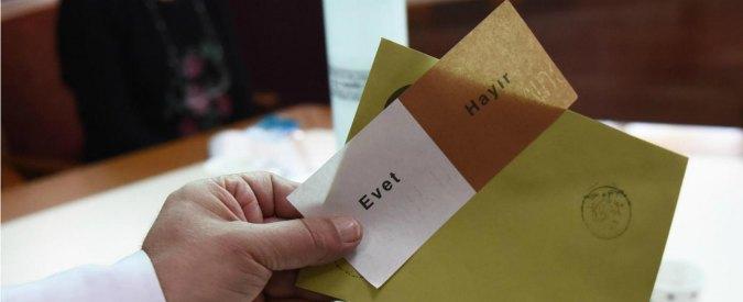 """Referendum in Turchia, Osce: """"Due milioni e mezzo di schede sospette"""""""