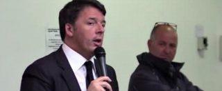 """Pd, Renzi: """"Con quelli che sono andati via dal Pd non faremo alleanze, è ovvio"""""""