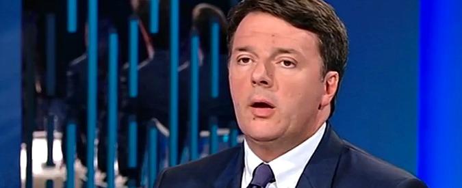 """Migranti, Renzi insiste: """"Aiutarli a casa loro? E' buon senso, dobbiamo smettere di far venire tutti qua"""""""