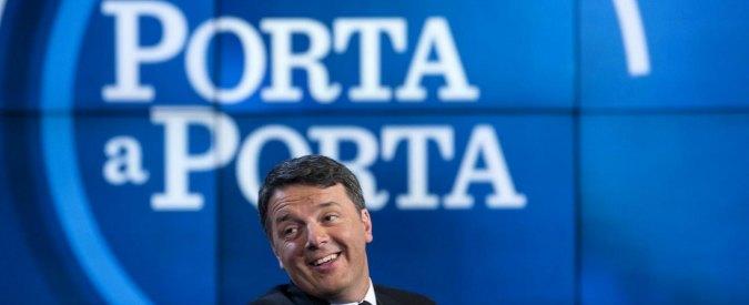 Renzi da Vespa demolisce l'Italicum. Ma sull'inchiesta di Report glissa