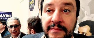 """Migranti, Salvini dorme al Cara di Mineo: """"Centro commerciale di carne umana"""""""