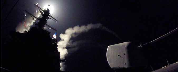 """Siria, """"nave da guerra russa verso i due cacciatorpedinieri americani che hanno lanciato l'attacco"""""""