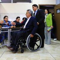 Lenin Moreno, il presidente eletto