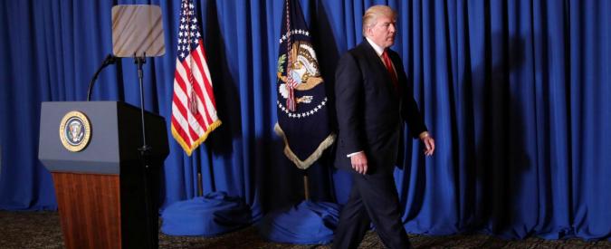 """Siria, """"con l'attacco Trump ricompatta i repubblicani sul fronte interno gli insuccessi su Obamacare e Muslim ban"""""""