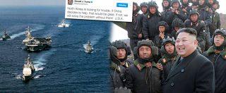 """Corea del Nord,  Trump: """"Cercano guai"""". Pyongyang minaccia gli Usa: """"Pronti a reagire a qualsiasi tipo di guerra"""""""