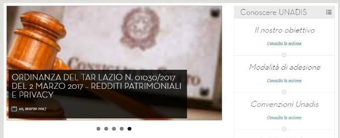 """Dirigenti pubblici, presentato il ricorso contro pubblicazione dei patrimoni: """"Viola diritti fondamentali dell'uomo"""""""