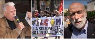 """Migranti, corteo a Ventimiglia per difendere la solidarietà. Revelli e Petrini: """"Attacco in atto non si limita a Ong"""""""