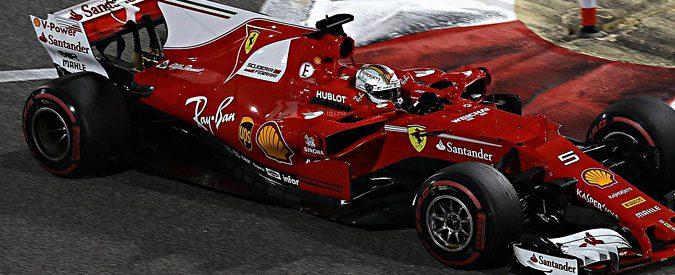 Gp Bahrain, Ferrari e Vettel: quando la staccata li esalta