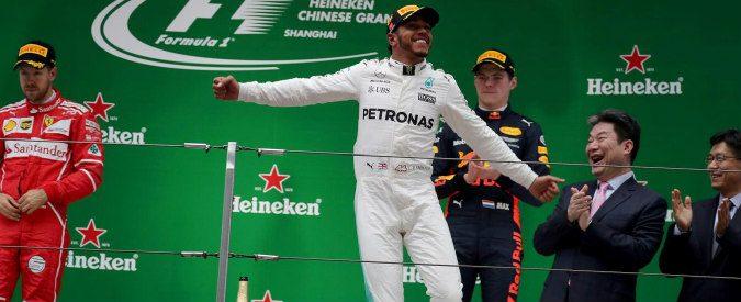 Formula 1, gran premio di Shanghai: Vettel vs. Hamilton la classifica dice pari ma…