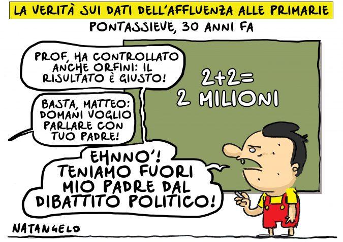 Quando Renzi imparò a far di conto