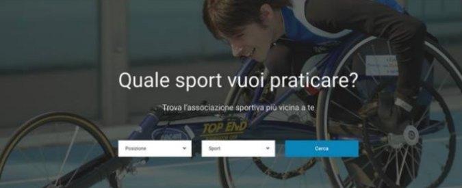 Disabili, dal calcio all'atletica: nasce il sito per chi vuole fare sport vicino a casa. Online anche una lista di volontari