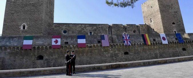 Appunti dal mondo a km zero – Al G7 di Bari dove il pericolo sono i cittadini