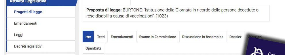 """""""Vaccini, famiglie tenute all'oscuro del rischio"""". M5s? No Pd. Scoppia la polemica, e il ddl scompare"""