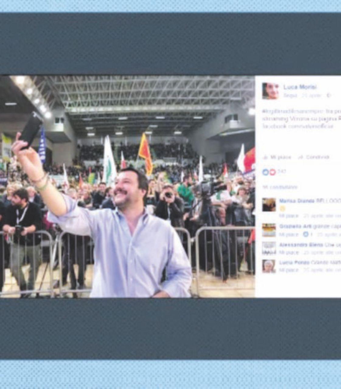 Sfida tra Salvini e Fava alle primarie della Lega