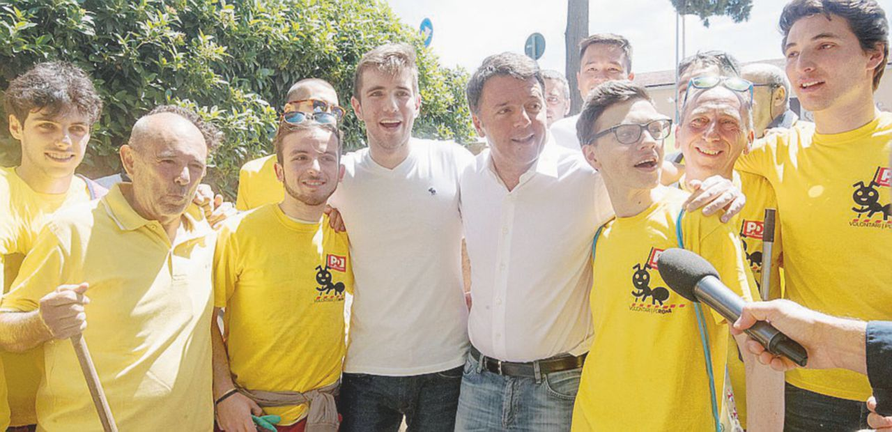 """In Edicola sul Fatto Quotidiano del 15 maggio: Renzi dalle """"magliette gialle"""" e poi da Giletti"""