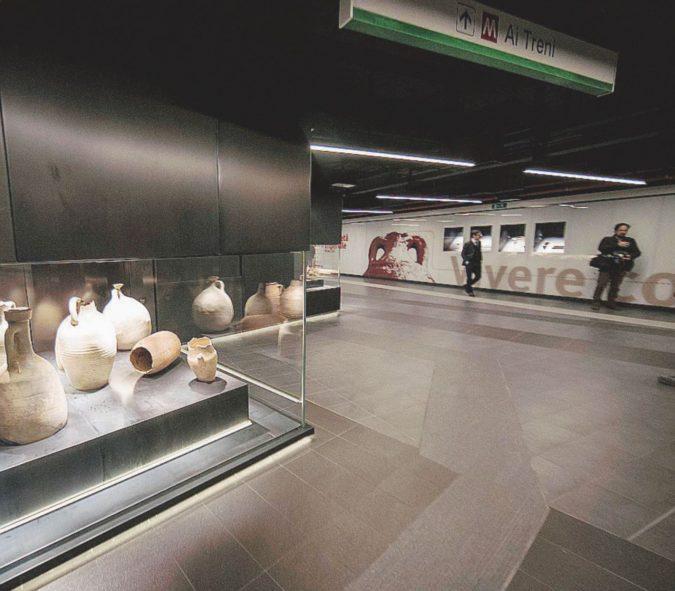 Dopo Atene e Napoli, una stazione museo anche nella Capitale