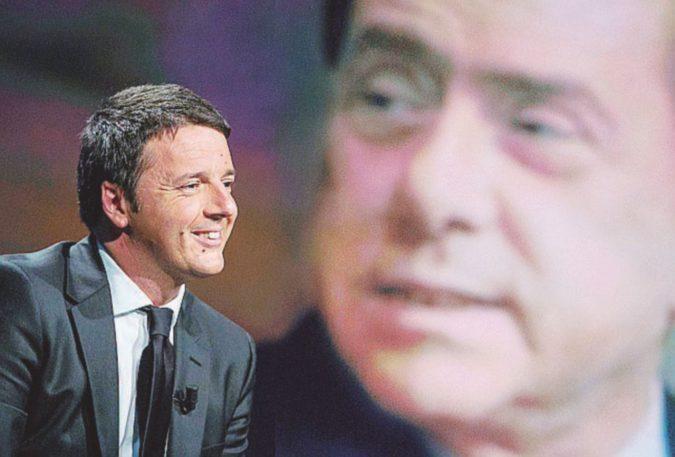 """""""Renzi e B. trattano per il governo protetti dal pensiero unico"""""""