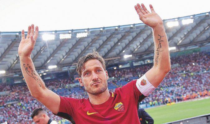Il giallo del primo giorno senza calcio di capitan Francesco Totti