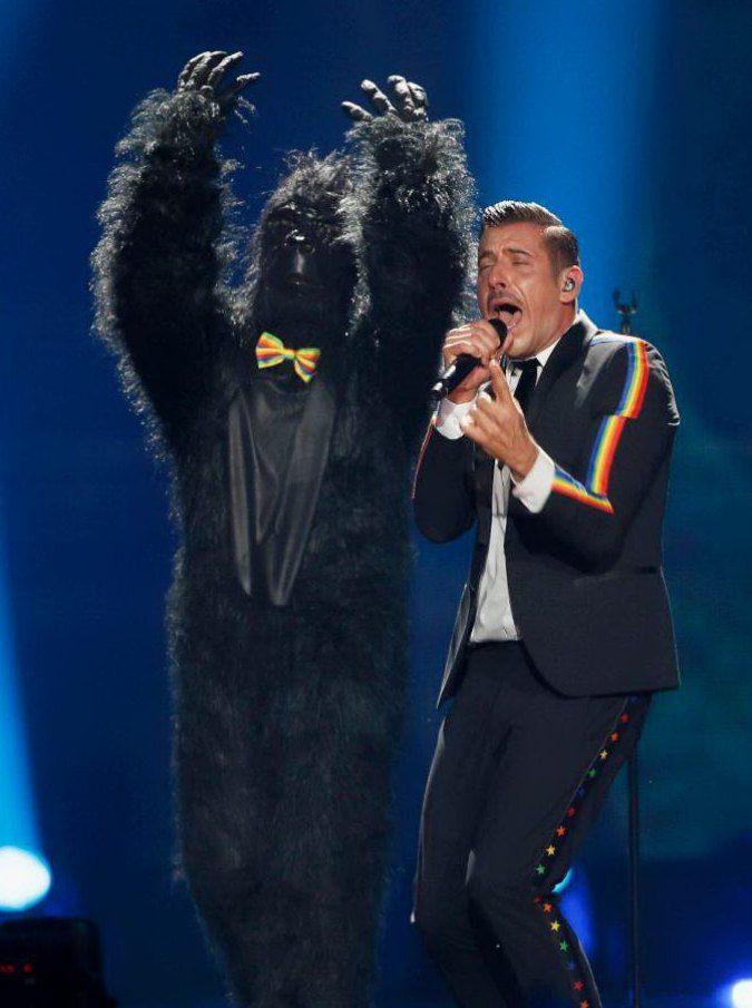 Eurovision Song Contest, il superfavorito Gabbani entra papa ed esce cardinale: a Kiev è solo 6°