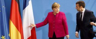 """Macron-Merkel, c'è il nuovo asse franco-tedesco: """"Possibile cambiare i trattati Ue"""""""