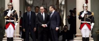 """Francia, Emmanuel Macron: """"Voglio un'Europa più efficace e più politica"""". Eliseo, passaggio di poteri con Hollande – FOTO"""