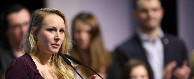 Front National: Marion, la nipote di Marine Le Pen si ritira temporaneamente dalla politica
