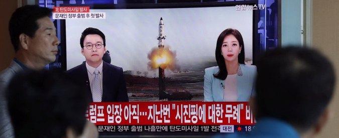 Nord Corea lancia nuovo missile balistico. Nato: 'Minaccia per la sicurezza e la pace'
