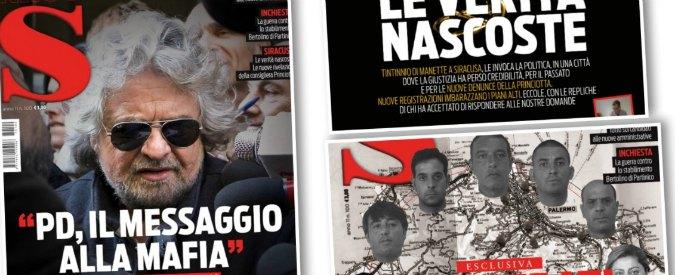 """Sicilia, Grillo: """"Insussistenza Crocetta è un messaggio del Pd alla mafia siciliana"""". I dem: """"Lo quereliamo"""""""