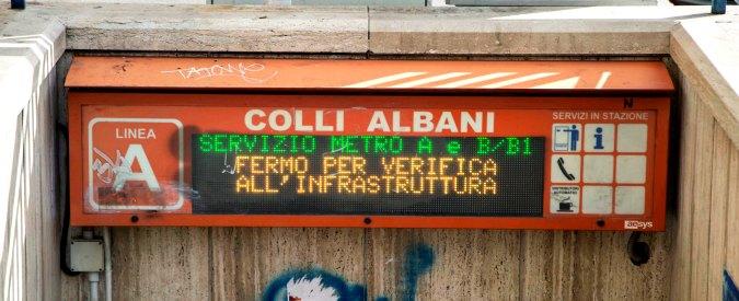 Roma, Metropolitane Spa: 'Lavori urgenti di messa a norma linee A e B entro 2018'. Costo? 1 miliardo. Che il Comunenon ha
