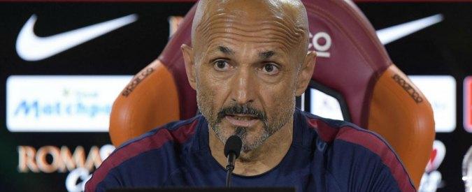 """Spalletti lascia la Roma: """"Totti? Dissidio inventato, non meritavo i fischi. Non abbiamo remato tutti dalla stessa parte"""""""