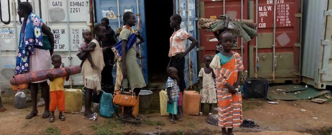 """Sud Sudan, l'allarme di Unicef e Unhcr: """"Un milione di bambini in mezzo a 1,8 milioni di profughi"""""""